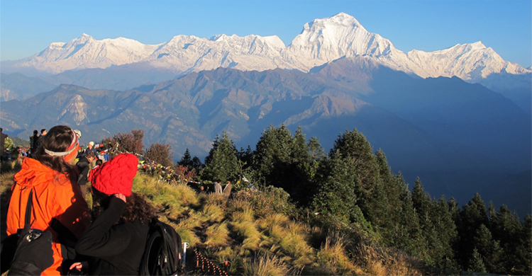 Dhaulagiri from Poon Hill
